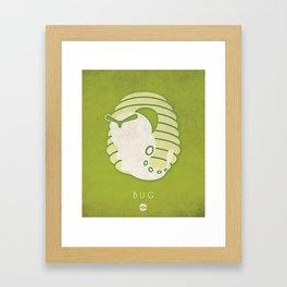 POKÉMON Bug Framed Art Print