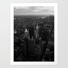 View from the Empire State Building Art Print