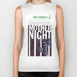 Vonnegut - Mother Night Biker Tank