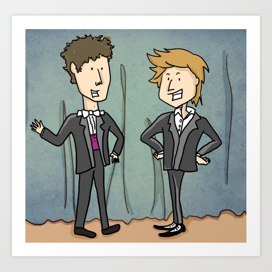 Not the Adventures of Moleman (comedy show) Art Print