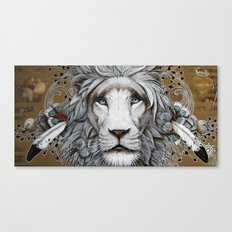 guerrier pacifique Canvas Print