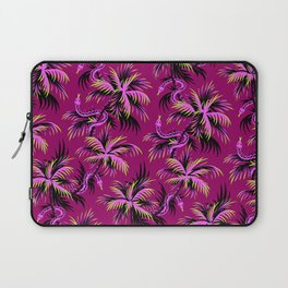 Snake Palms - Purple Laptop Sleeve