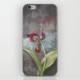 Faded Tulip iPhone Skin