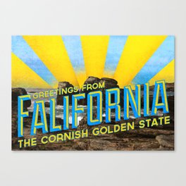 Falifornia Canvas Print