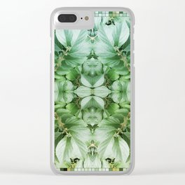 ~°* Awash //in//the// Pleasant ● Perpetual *°~ Clear iPhone Case