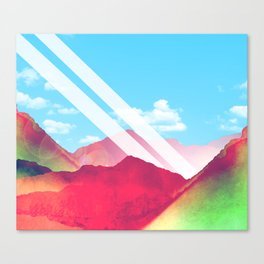 Tijuana road trip Canvas Print