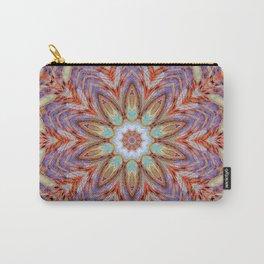 Sunny Day Kaleidoscope Mandala Fashion Design Carry-All Pouch