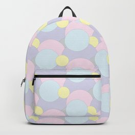 Pastel Abstract Circles Backpack