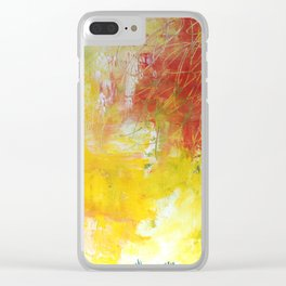 Scratchy Clear iPhone Case
