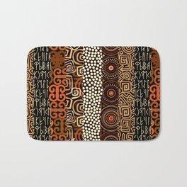 Geometric African Pattern Bath Mat