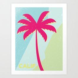 California Palm Art Print