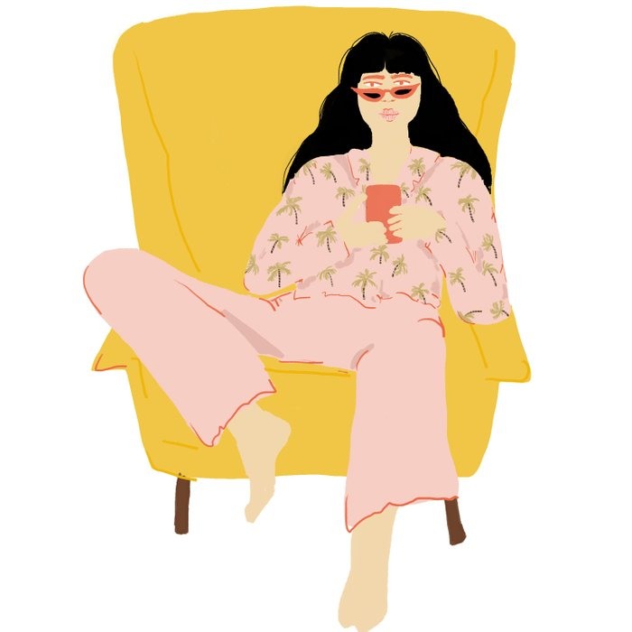 Pyjama Sunday Duvet Cover