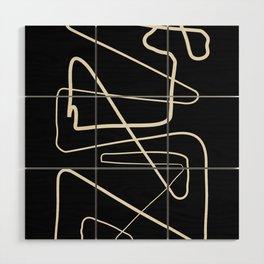 Movements Black Wood Wall Art