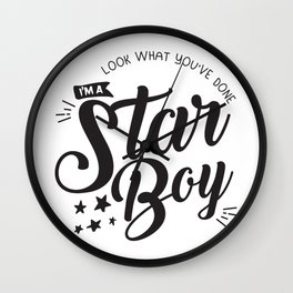 I am a Starboy Wall Clock