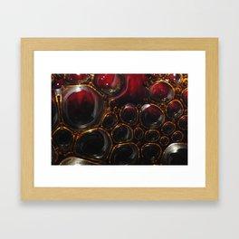 Passion Bubbles Framed Art Print