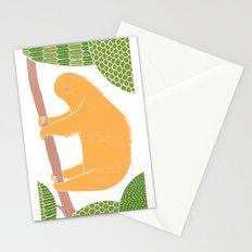Sleepy Happy Sloth Stationery Cards