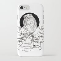 walrus iPhone & iPod Cases featuring Walrus by Hopler Art