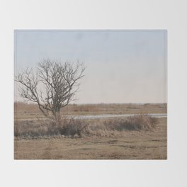 Wild Landscapes at the coast 1 Throw Blanket