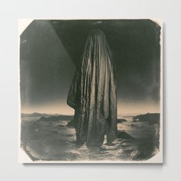 Space Ghost Metal Print