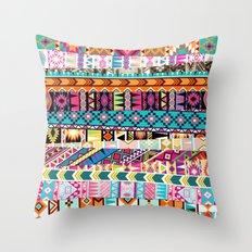 Tribal Mix Throw Pillow