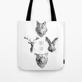 Forest Gods Tote Bag