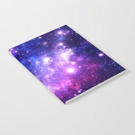 Purple Blue Galaxy Nebula Notebook