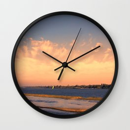 Big River Big Sky  Wall Clock
