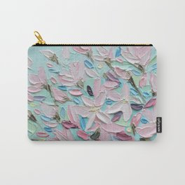 District  Blooms Carry-All Pouch