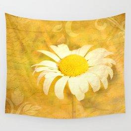 Textured Daisy Wall Tapestry