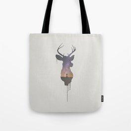 Deer Head V Tote Bag