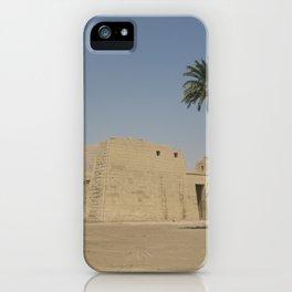 Temple of Medinet Habu, no.1 iPhone Case