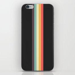 Minimal Classic Rainbow Retro Stripes - Tipua iPhone Skin