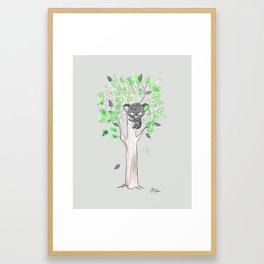 Too Clingy Framed Art Print