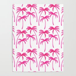 Dreamy Island Vacation Poster
