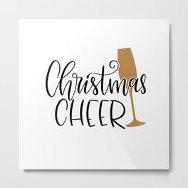 Christmas cheer shirt Metal Print