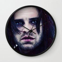 """Bucky Barnes """"The Winter Soldier"""" Portrait Wall Clock"""