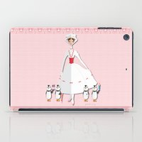 mary poppins iPad Cases featuring Mary Poppins by AmadeuxArt