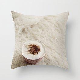 Café.  Throw Pillow