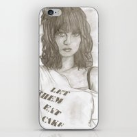 hayley williams iPhone & iPod Skins featuring Hayley williams 2 by Dead Rabbit