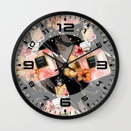 Fashion & Perfume #2 Wall Clock