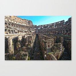 Collisio Canvas Print
