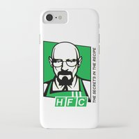 cook iPhone & iPod Cases featuring The Cook by Ferguccio