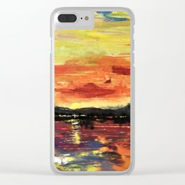 Lake House Venture Clear iPhone Case
