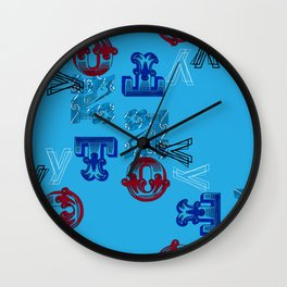 Why Not Me!! Wall Clock