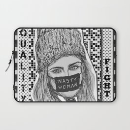 (Cara - Nasty Woman) - yks by ofs珊 Laptop Sleeve