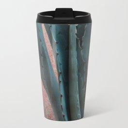 Pink Blue Cactus Travel Mug