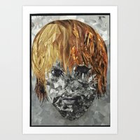 kurt cobain Art Prints featuring Kurt Cobain by Smith Smith