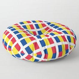 Flag of romania-romania,romanian,balkan,bucharest,danube,romani,romana,bucuresti Floor Pillow