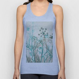 Abstract Botanical Unisex Tank Top