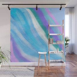 Watercolor Swirls Wall Mural